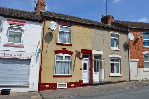 3 Bedrooms Terraced House for sale in Stanley Street, Semilong, Northampton NN2 6DE