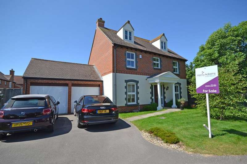 5 Bedrooms Detached House for sale in Robinson Close, Selsey, PO20