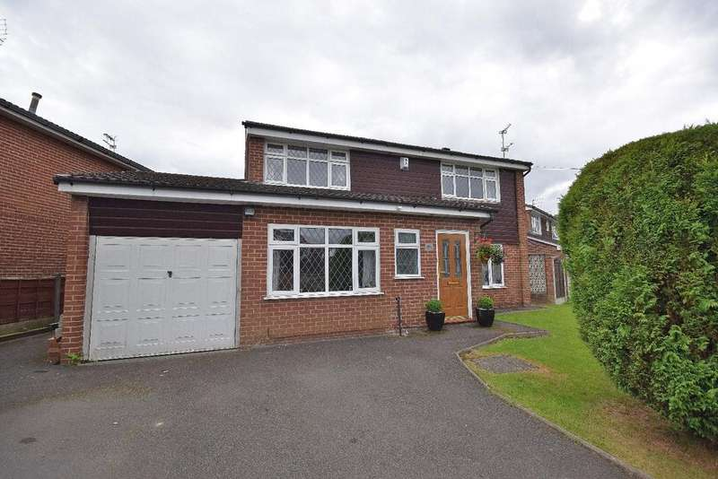 4 Bedrooms Detached House for sale in Vernon Road, Poynton