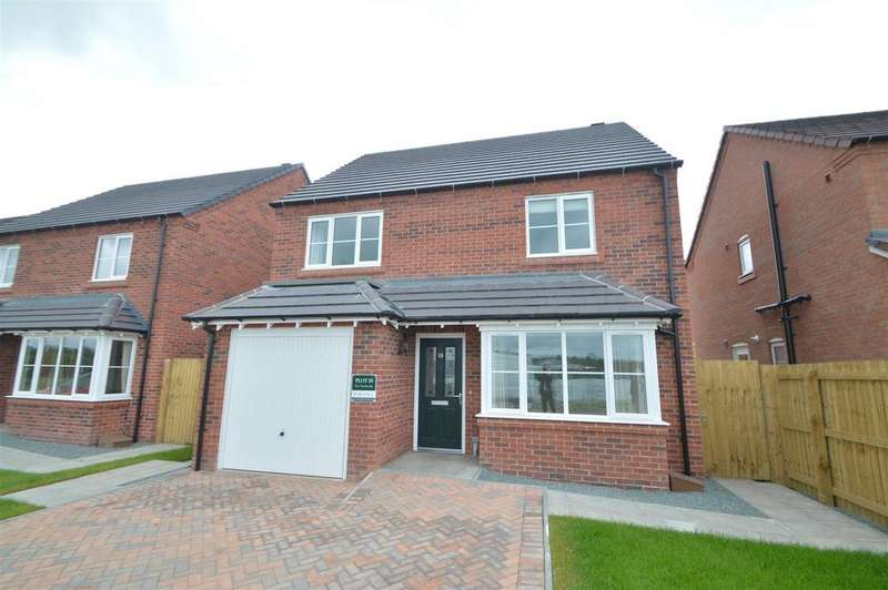 4 Bedrooms Detached House for sale in Plot 39 Redwing Fields, Underdale, Shrewsbury, SY2 5SH