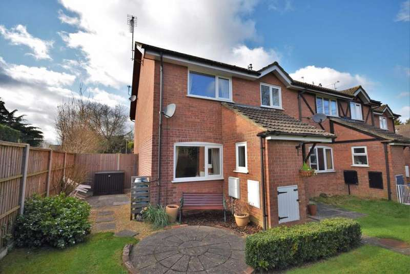 2 Bedrooms End Of Terrace House for sale in Chineham, Basingstoke, RG24