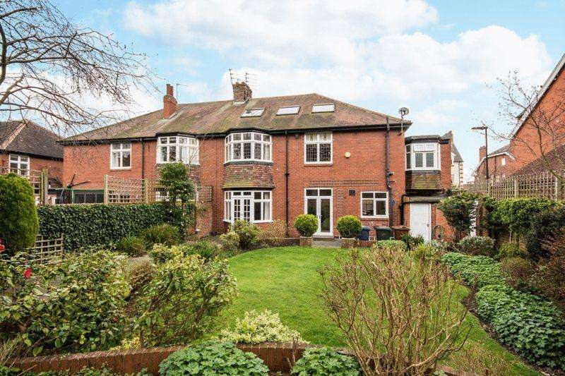 5 Bedrooms Semi Detached House for sale in Graham Park Road, Gosforth