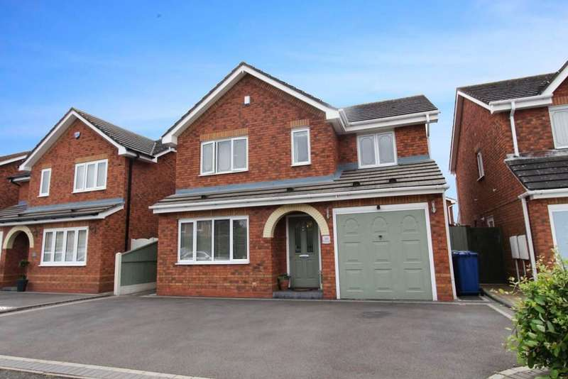 4 Bedrooms Detached House for sale in Mansfield Close, Tame Meadow