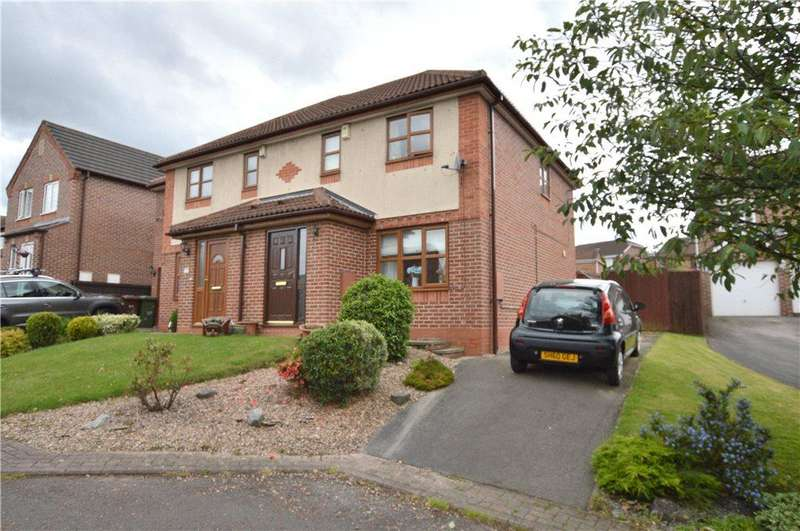 3 Bedrooms Semi Detached House for sale in Laithes Court, Wakefield, West Yorkshire