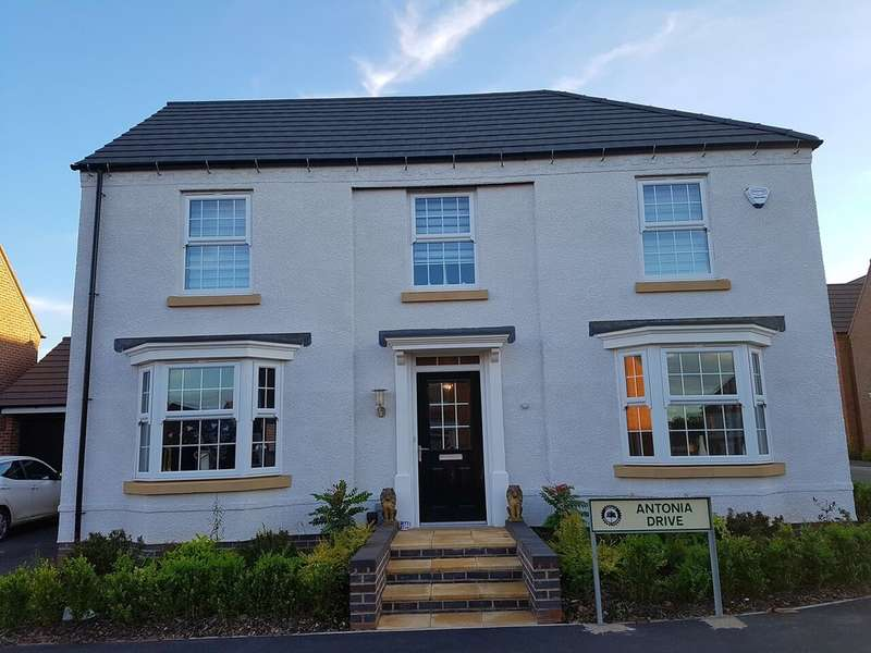 4 Bedrooms Detached House for sale in Antonia Drive, Hucknall