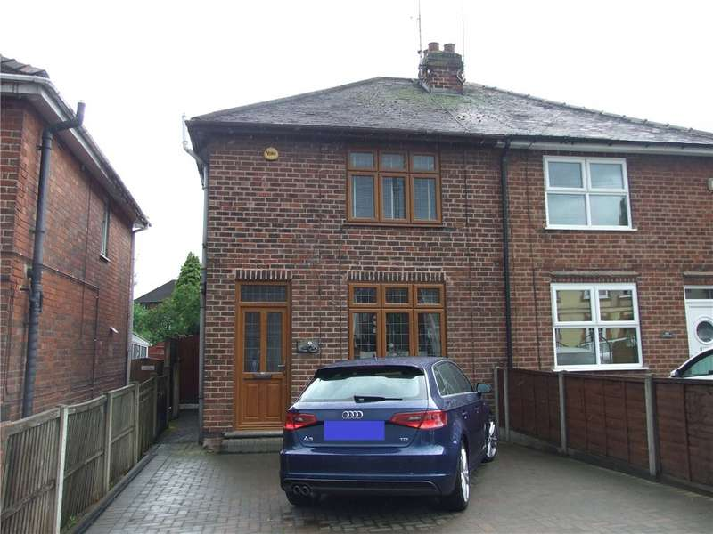 3 Bedrooms Semi Detached House for sale in Somercotes Hill, Somercotes, Alfreton, Derbyshire, DE55