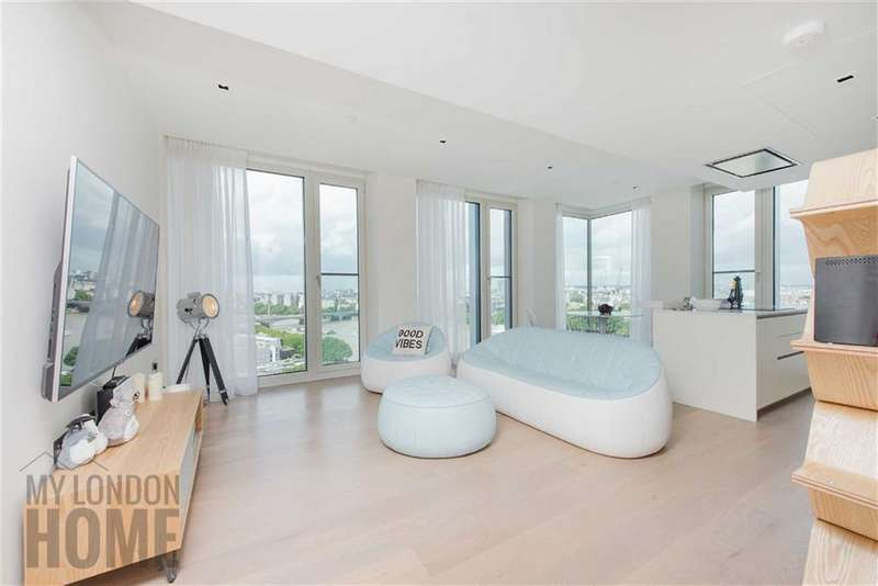 2 Bedrooms Property for sale in Southbank Tower, 55 Upper Ground, London, SE1