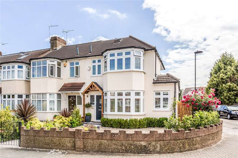 4 Bedrooms End Of Terrace House for sale in Connaught Avenue, Enfield, EN1