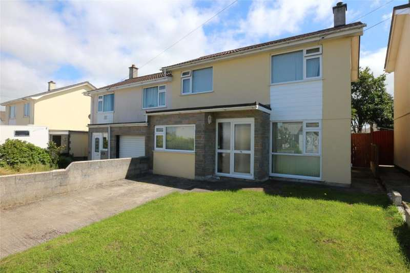 3 Bedrooms Semi Detached House for sale in Pendrea Park, Camborne, Cornwall