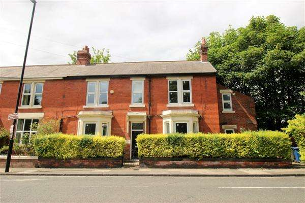 3 Bedrooms End Of Terrace House for rent in Osborne Road, Jesmond, Newcastle upon Tyne