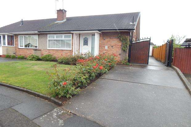 2 Bedrooms Bungalow for sale in Glendon Drive, Hucknall, Nottingham, NG15