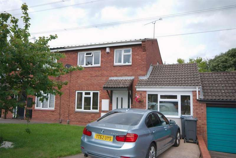 3 Bedrooms Semi Detached House for sale in Cutworth Close, Sutton Coldfield, West Midlands