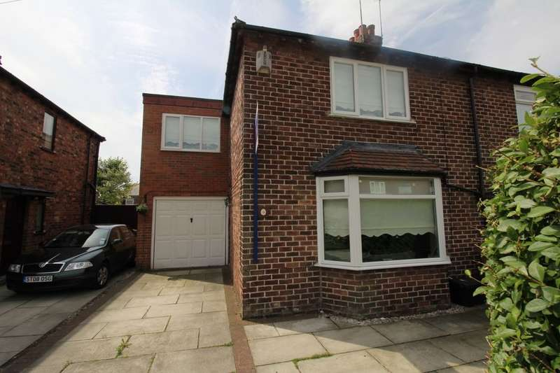 3 Bedrooms Semi Detached House for sale in Ellerslie Avenue, Rainhill, Prescot, L35