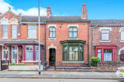 4 Bedrooms Terraced House for sale in Smithpool Road, Stoke-On-Trent, Staffordshire, Staffs
