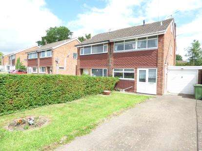 3 Bedrooms Semi Detached House for sale in Barnes Road, Highfileds, Stafford, Staffordshire