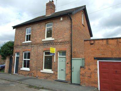 2 Bedrooms Semi Detached House for sale in Nursery Road, Radcliffe-On-Trent, Nottingham