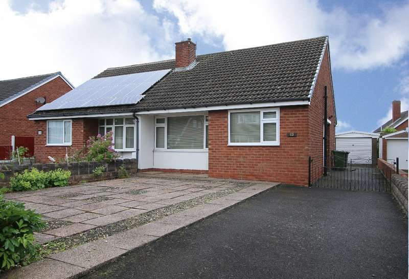 2 Bedrooms Semi Detached Bungalow for sale in Summer Road, Kidderminster, Worcestershire, DY11