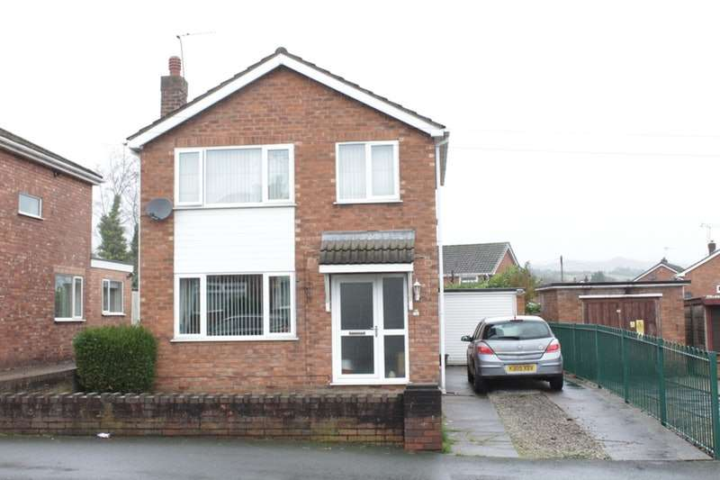 3 Bedrooms Detached House for sale in Penrhyn Drive, Gwersyllt, Wrexham, LL11
