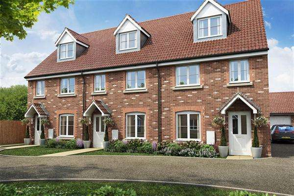 3 Bedrooms End Of Terrace House for sale in Austin Rise,, Burton Latimer