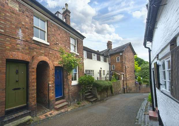 3 Bedrooms Terraced House for sale in Friars Street, BRIDGNORTH, Shropshire