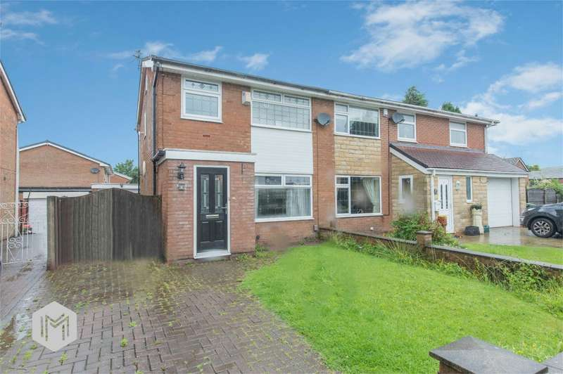 3 Bedrooms Semi Detached House for sale in Castle Croft, Harwood, Bolton, Lancashire