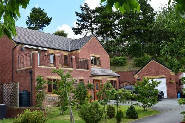 4 Bedrooms Detached House for sale in Oak View, Sarn, Newtown, Powys