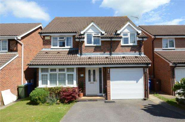 4 Bedrooms Detached House for sale in Cressida Chase, Warfield, Berkshire