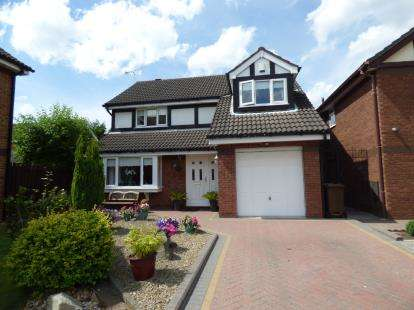 4 Bedrooms Detached House for sale in Maunders Court, Crosby, Liverpool, Merseyside, L23