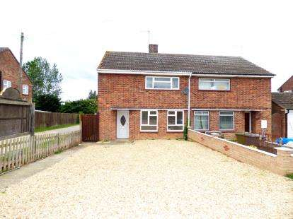 3 Bedrooms Semi Detached House for sale in Crowland Road, Eye, Peterborough, Cambridgeshire