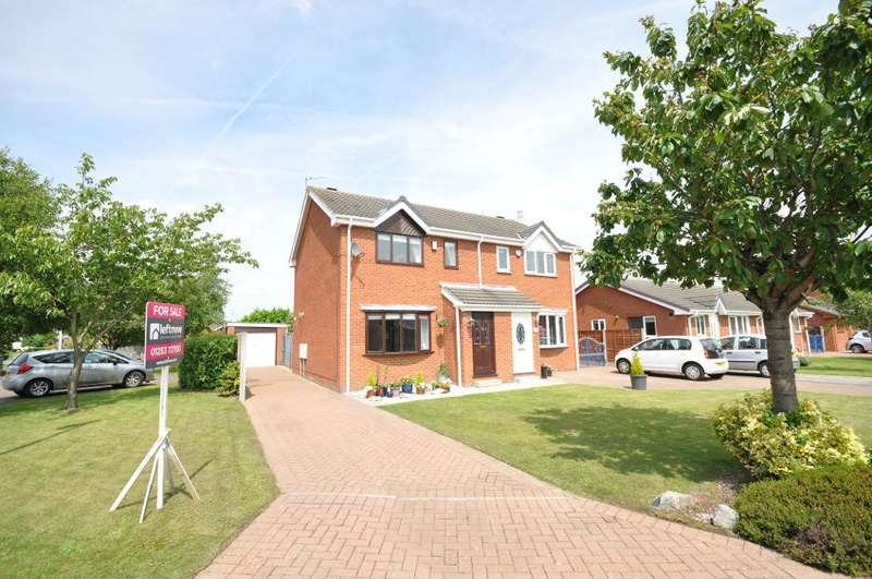 2 Bedrooms Semi Detached House for sale in Glenapp Avenue, Blackpool, Lancashire, FY4 5NG