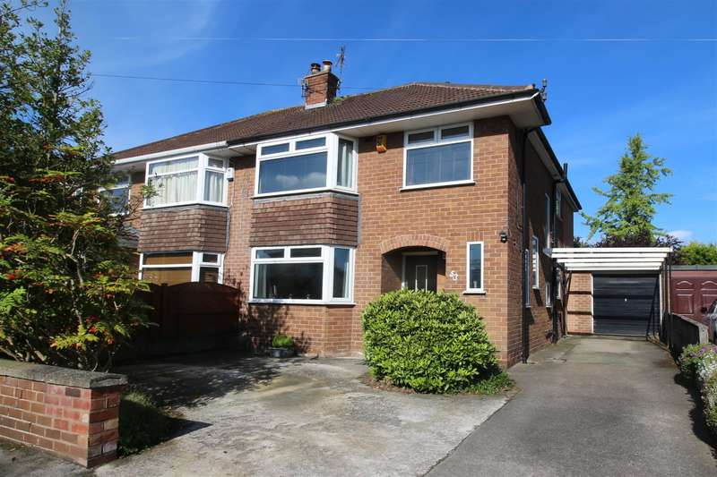4 Bedrooms Semi Detached House for sale in Brooklet Road, Heswall, Wirral, CH60 1UJ