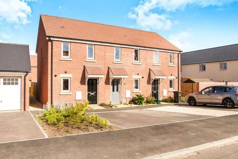 2 Bedrooms Property for sale in Beacon Close, Bathpool, Taunton, ta2
