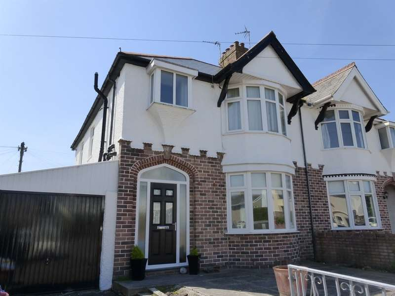 3 Bedrooms Semi Detached House for sale in Fairfax Crescent, Porthcawl