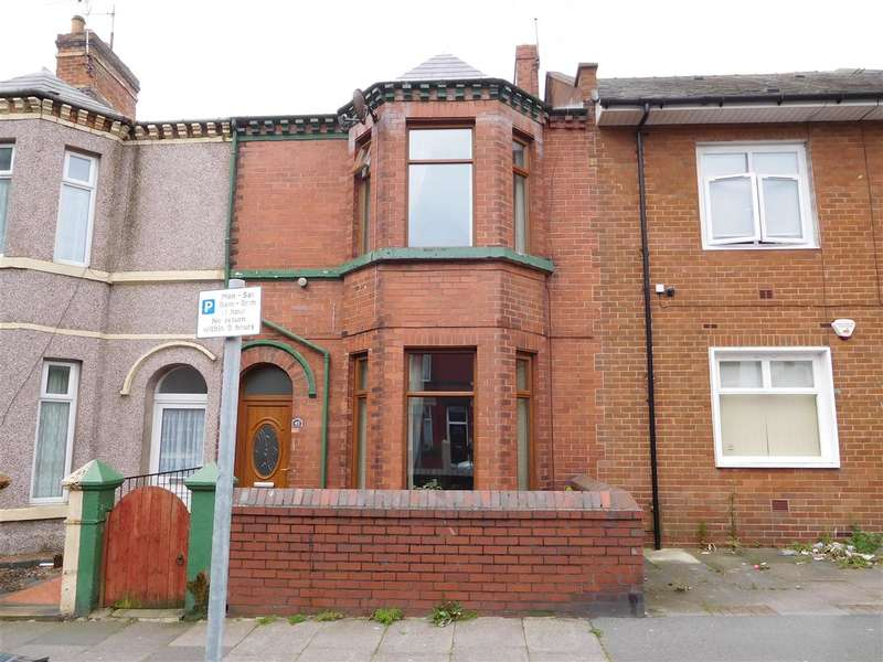 3 Bedrooms Terraced House for sale in Hartington Street, BARROW-IN-FURNESS