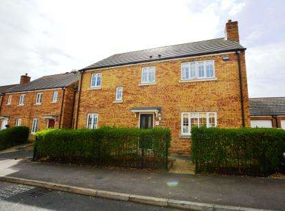 4 Bedrooms Detached House for sale in Howards Way, Moulton Park, Northampton, Northamptonshire