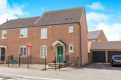 3 Bedrooms End Of Terrace House for sale in Valley Gardens Kingsway, Quedgeley, Gloucester, Gloucestershire
