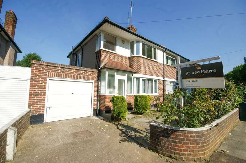 3 Bedrooms Semi Detached House for sale in Alexandra Avenue, Harrow