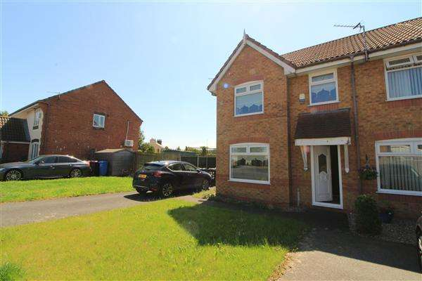 3 Bedrooms Semi Detached House for sale in Riesling Drive, Kirkby