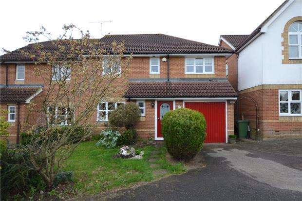 4 Bedrooms Semi Detached House for sale in All Saints Rise, Warfield