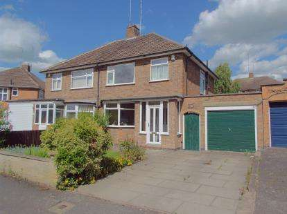 3 Bedrooms Semi Detached House for sale in Wintersdale Road, Leicester, Leicestershire