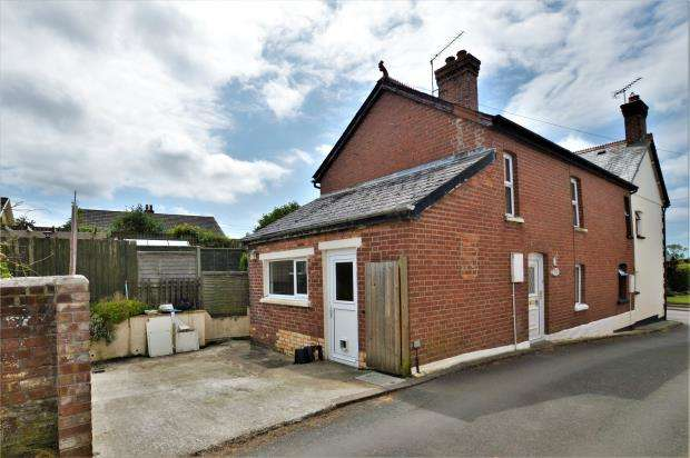 2 Bedrooms End Of Terrace House for sale in Pellews Cottages, Black Torrington, Beaworthy, Devon
