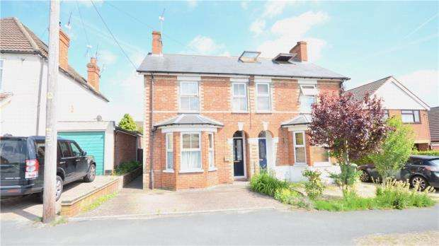 3 Bedrooms Semi Detached House for sale in Branksome Hill Road, College Town, Sandhurst