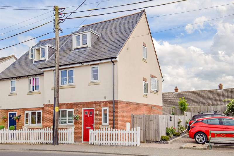 3 Bedrooms Semi Detached House for sale in Island Road, Upstreet, Canterbury