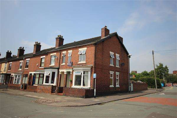 3 Bedrooms Town House for sale in Masterson Street, Fenton, Stoke-on-Trent