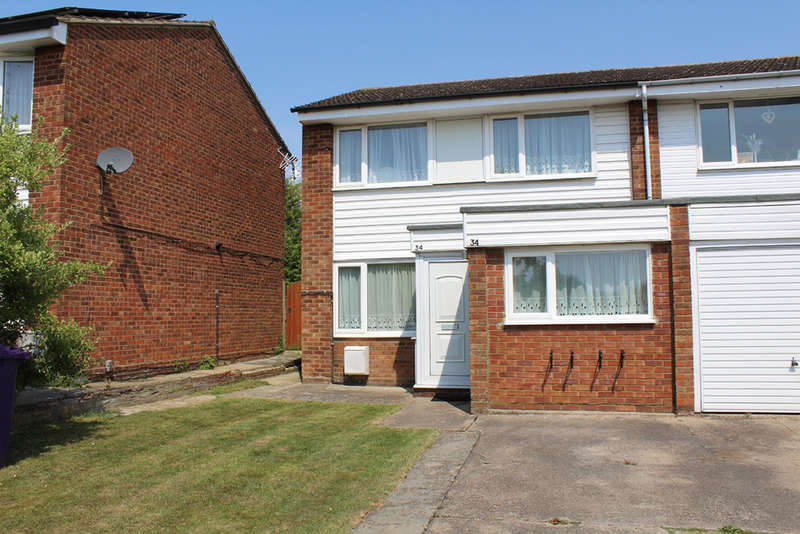 3 Bedrooms End Of Terrace House for sale in Lindsay Close, Royston