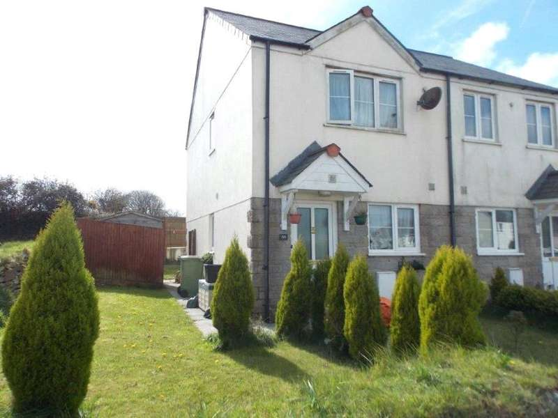 2 Bedrooms End Of Terrace House for sale in St Michaels Way, Roche, St Austell