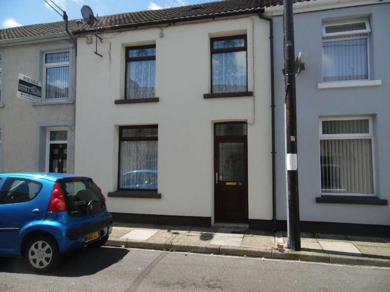 3 Bedrooms Terraced House for sale in Hamilton Street, Pentrebach, Merthyr Tydfil