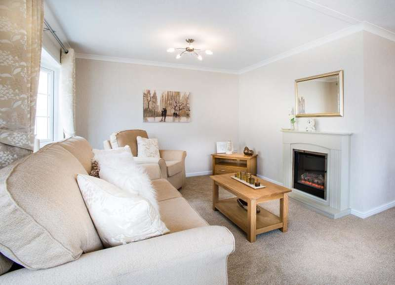 2 Bedrooms Park Home Mobile Home for sale in Millhouse Park, Worksop, Nottinghamshire, S80 1NP