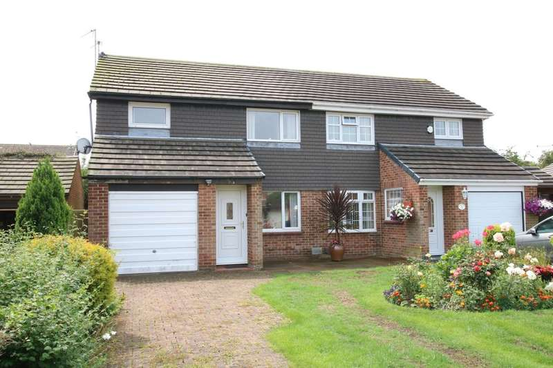 3 Bedrooms Semi Detached House for sale in Portrush Close, Washington, NE37