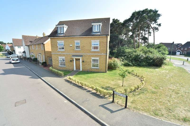 5 Bedrooms Detached House for sale in Thistle Way, Red Lodge, Bury St. Edmunds